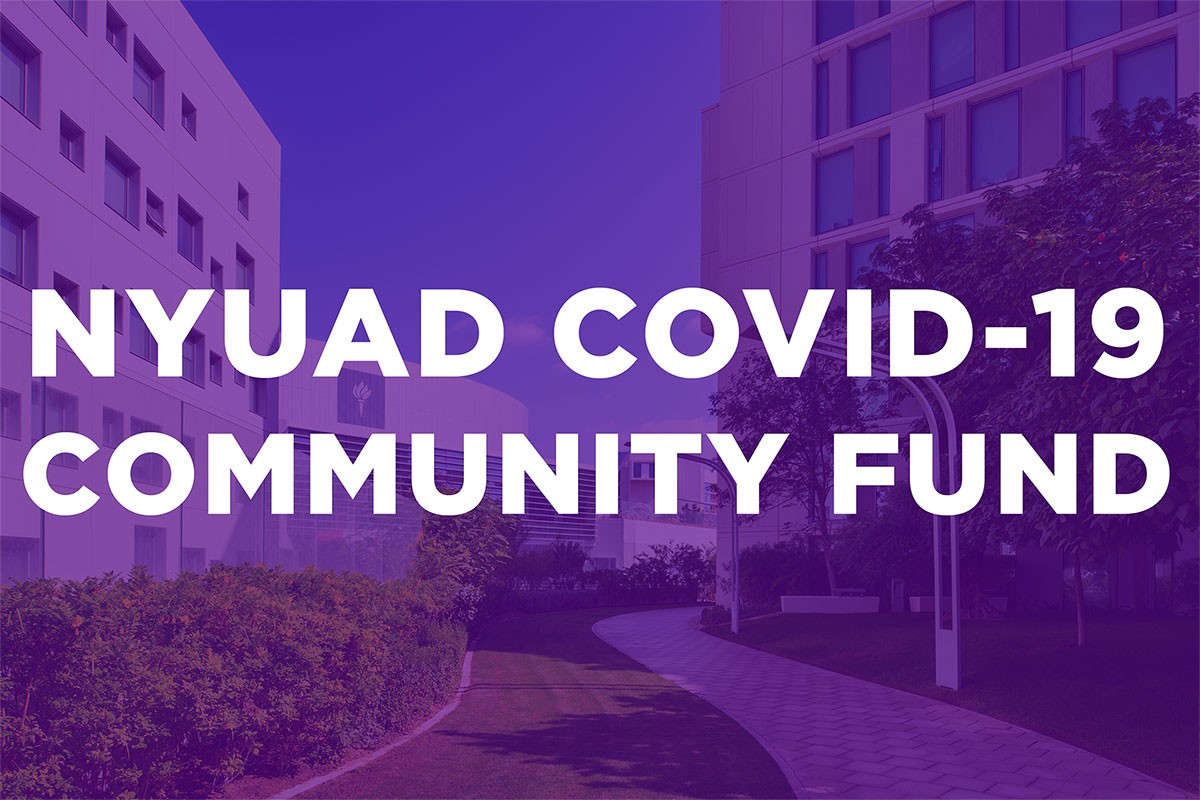 NYUAD COVID-19 Community Fund