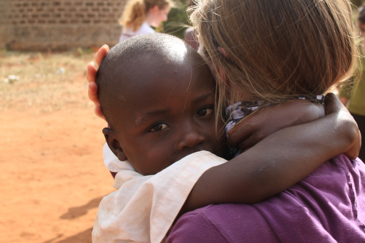 Children, Community Service, and Collaboration on Spring Break in Kenya
