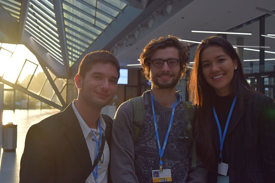 Students Participate in UN Framework Convention on Climate Change in Germany