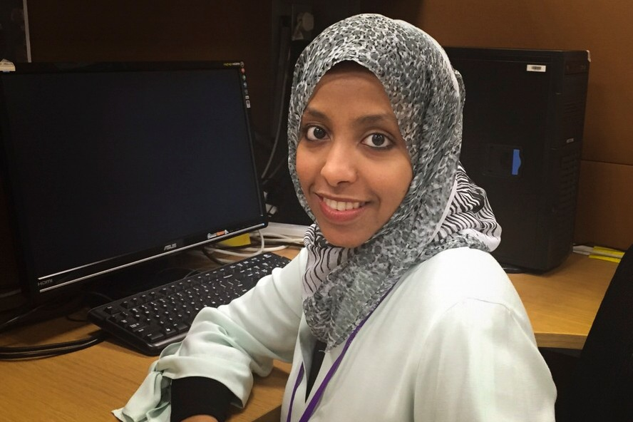 Graduate Student Samah Saeed Wins McCluskey Doctoral Thesis Award