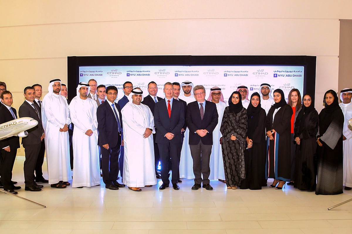Etihad Airways and New York University Abu Dhabi Collaborate on New Executive Leadership Development Programme