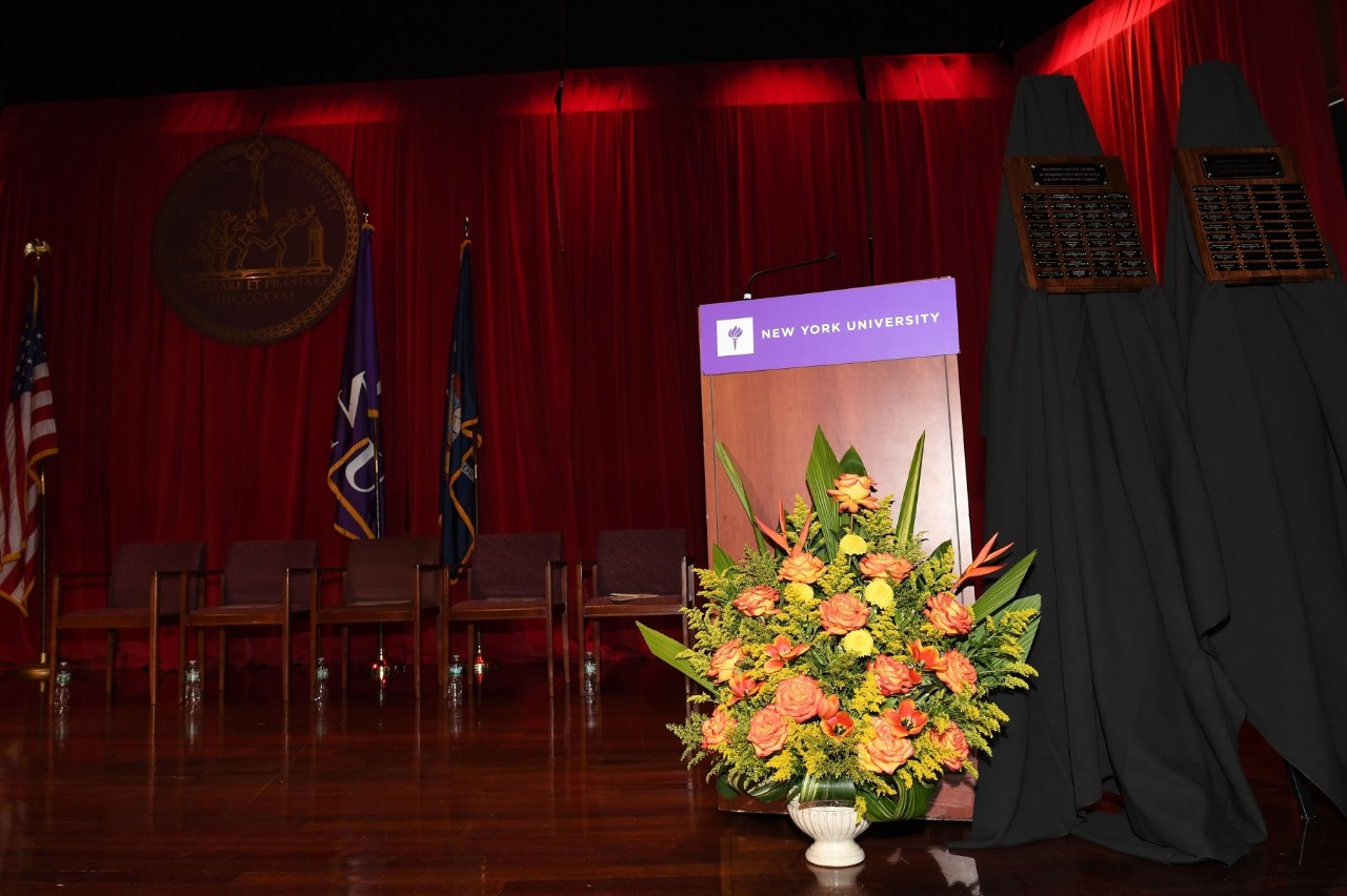 NYUAD Students Awarded for Academic Excellence and Dedication to Others