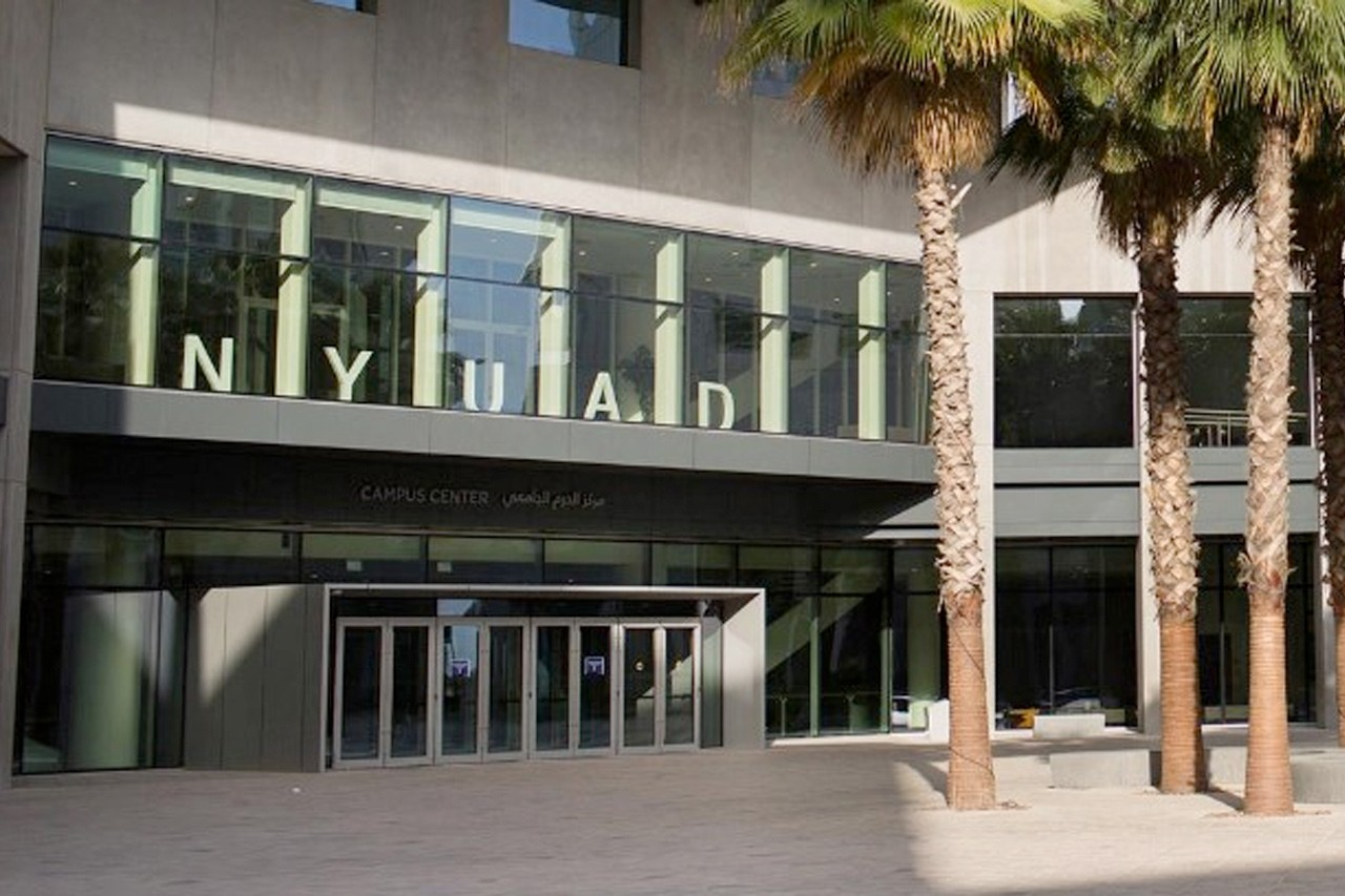 NYUAD Campus Center and the central plaza