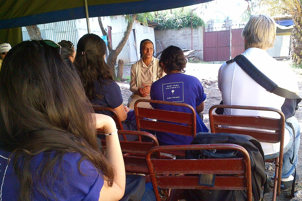 NYUAD Public Health Program Hosts Trip to Ethiopia