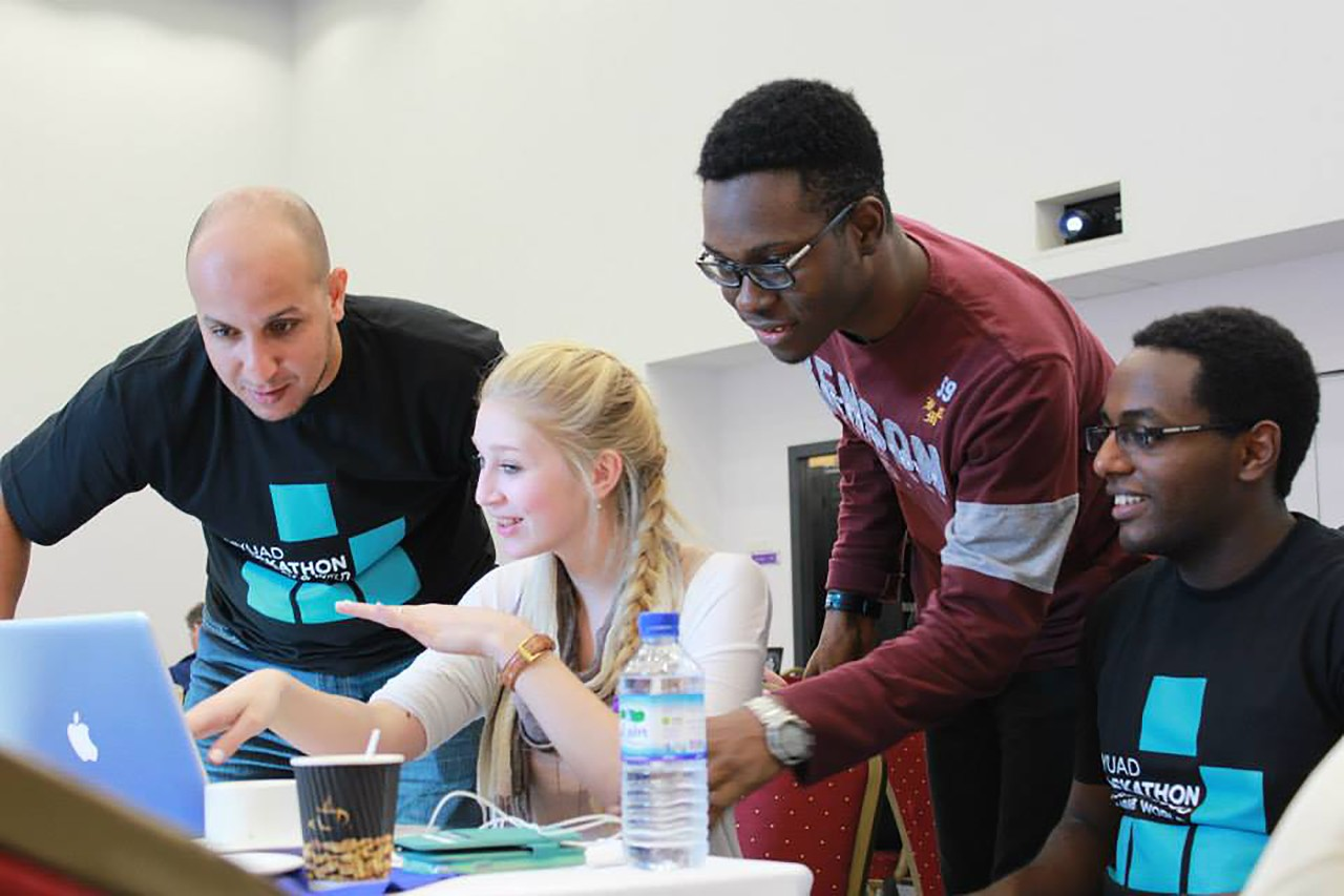 Students and Mentors Head to Abu Dhabi to Develop Innovative Technology Applications