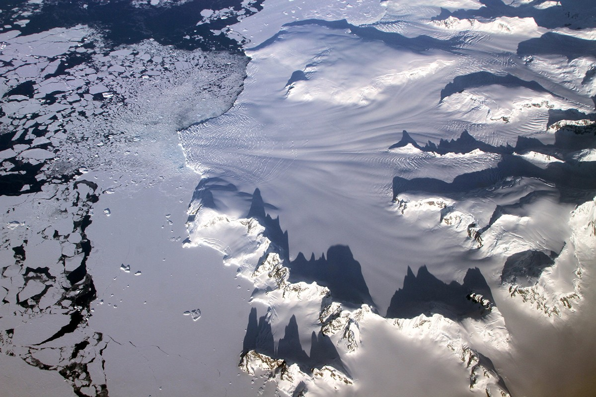 Warming in Antarctica Tied to Changes in the Atlantic