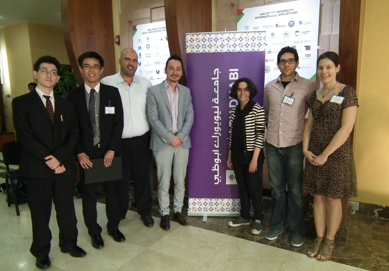Research taking place at NYU Abu Dhabi was center stage at the Third United Arab Emirates Undergraduate Research Competition, held at Abu Dhabi University on May 21.