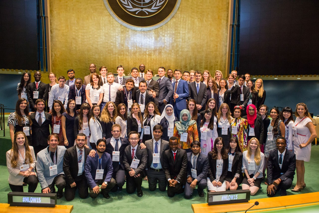 70 students from universities around the world were selected as finalists.