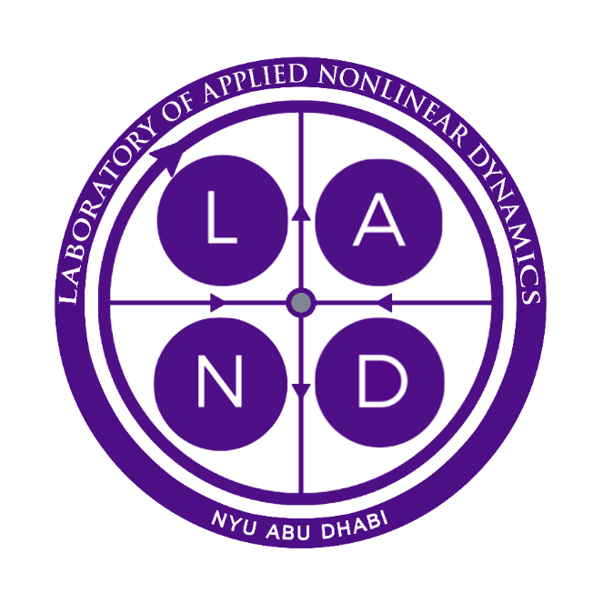 Laboratory of Applied Nonlinear Dynamics (LAND) logo