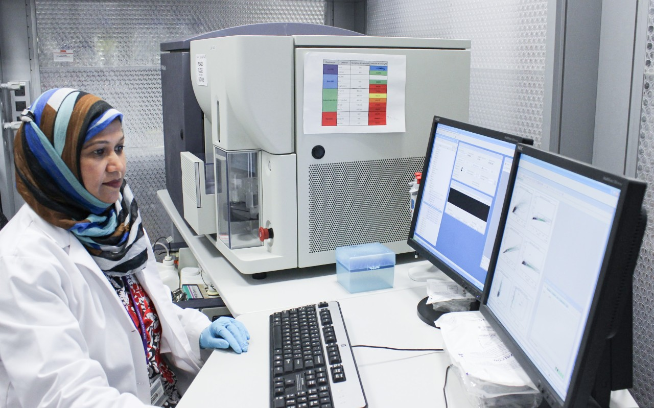 Analyzing data to sort cells for 10x Chromium Single Cell Sequencing