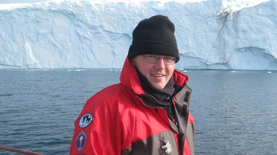 David Holland, Principal Investigator for the Center for Sea Level Change